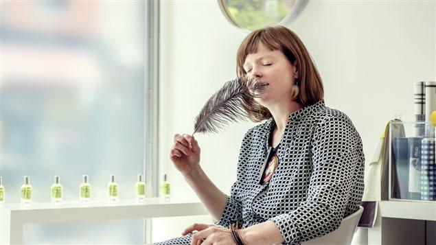 La parfumeuse Isabelle Michaud