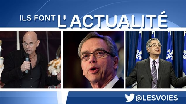 Guy Laliberté, Joe Oliver, Jean-Marc Fournier