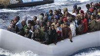 Environ 5800 migrants secourus en Méditerranée en moins de 24 heures