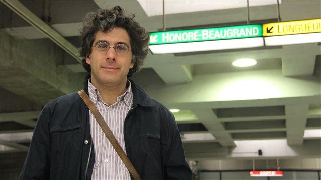 Jean-Philippe Warren, auteur d'une biographie d'Honoré Beaugrand