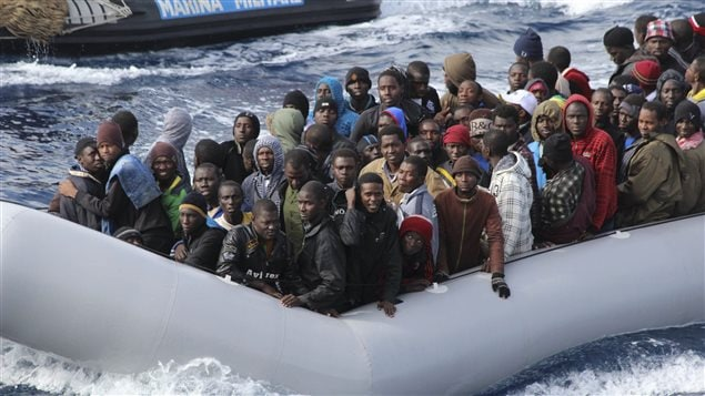 Migrants rescapés