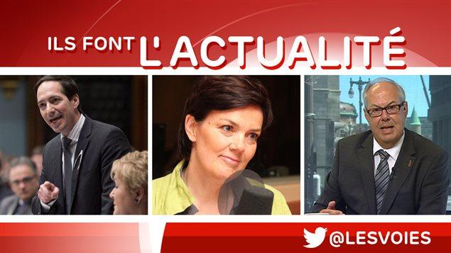 Stéphane Bédard, Béatrice Vaugrante, Louis Godin
