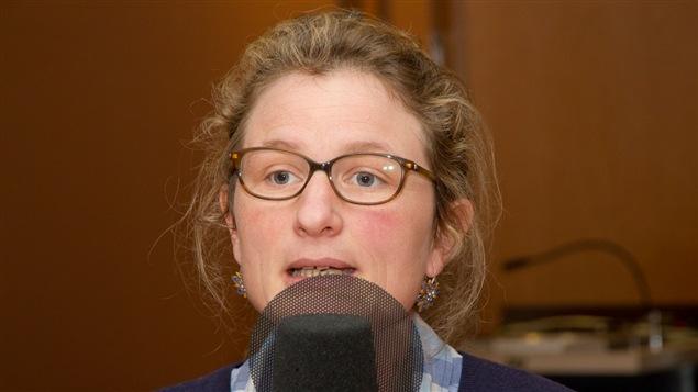 La chercheuse en génétique humaine et statistique à l'INSERM, Catherine Bourgain