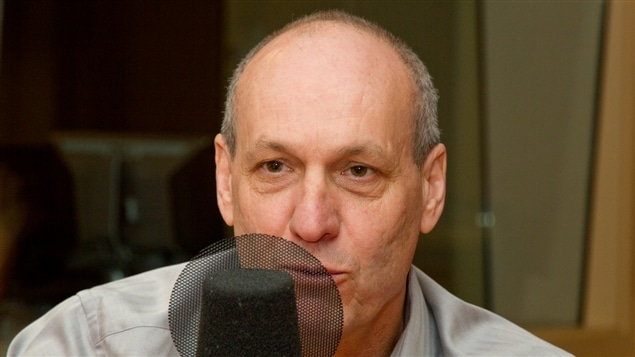 Le journaliste et animateur Alain Gravel