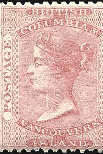 Vancouver Island Issued Four Stamps In 1865 British Columbia 10 Between 69