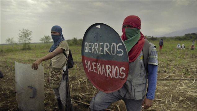 Los indígenas NASA de Colombia, luchan por sus derechos.