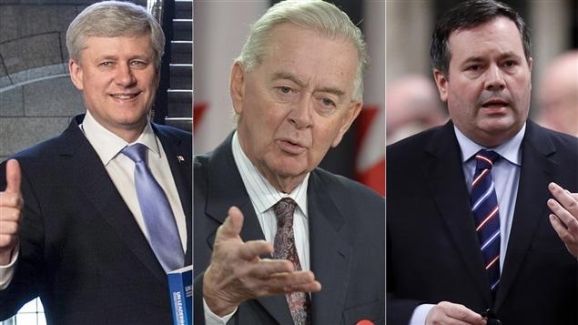 Stephen Harper, Preston Manning et Jason Kinney sont des membres passés ou actuels de Civitas.