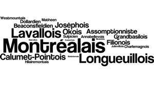 Les noms des résidents de villes du Grand Montréal
