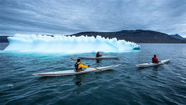 Eric McNair-Landry-promoting Inuit history through kayaks