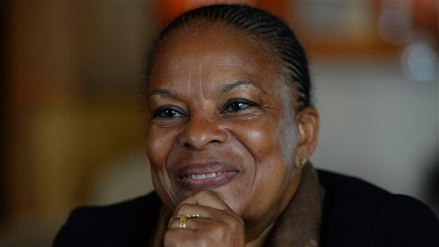 La ministre de la Justice française Christiane Taubira