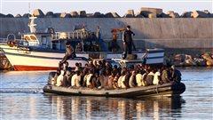 Les migrants de la mer : ceux d'aujourd'hui et ceux d'hier