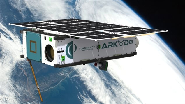 Le satellite Arkyd 3 Reflight de la compagnie Planetary Resources