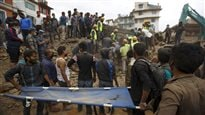 Séisme auNépal : l'aide internationale s'organise
