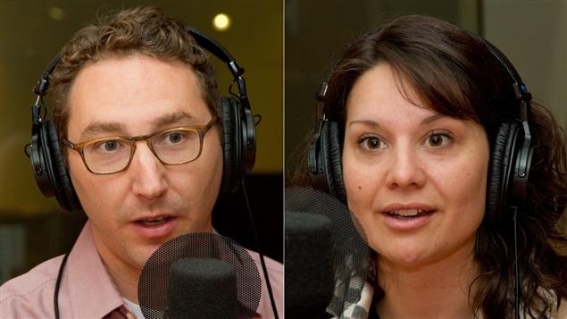 Joseph Flanders et Andréanne Larocque