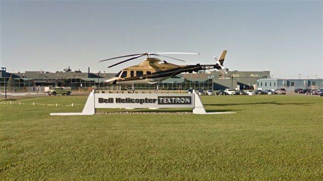 Bell Helicopter Textron à Mirabel, au Québec.
