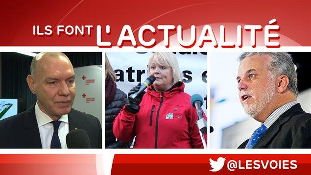 Conrad Sauvé, Lucie Longchamps, Philippe Couillard
