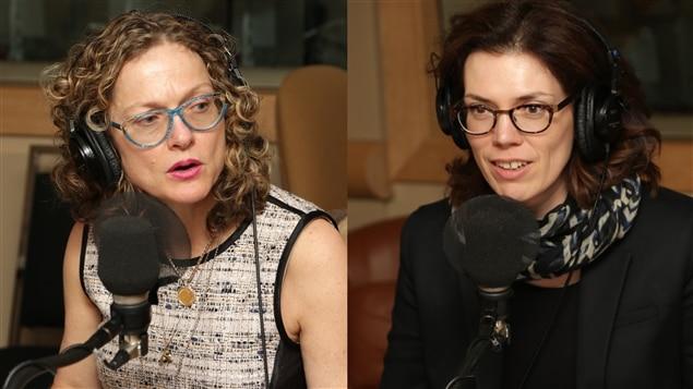 Les auteures Monique Polak et Caroline Allard