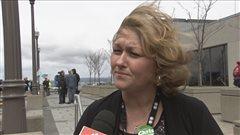 La vice-présidente de l'AFPC pour le Québec, Magalie Picard.
