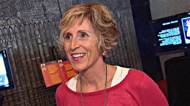 Heather Moore, productrice et directrice générale de Scène Ontario. (29-04-15)