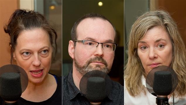 Sophie Lambert, Jean-Rémy Provost et Marie-Claude Ducas