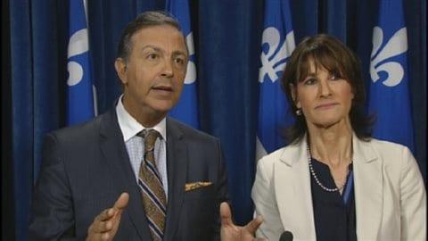 Sam Hamad et Kathleen Weil dénoncent l'intransigeance du gouvernement concernant les règles sur les travailleurs étrangers temporaires.