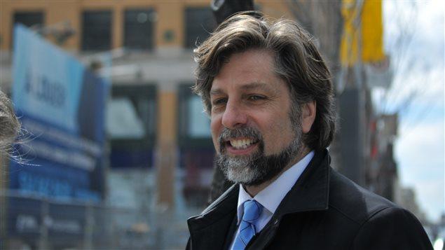 Le maire du Plateau-Mont-Royal, Luc Ferrandez