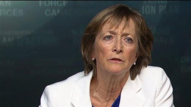 L'ex-juge Marie Deschamps, auteure du rapport sur l'inconduite sexuelle au sein des Forces armées canadiennes.
