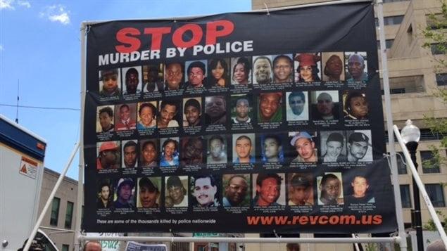 Les visages des Américains tués par la police aux États-Unis