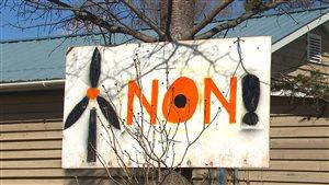 Non au projet d'éoliennes à Saint-Cyprien-de-Napierville