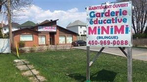 La construction de la garderie Minimi de Laval, survenue il y a trois ans, fait l'objet d'une enquête policière.