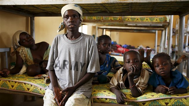 Cecilia Abel a raconté son horrible expérience depuis le camp de réfugiés de Malkohi.