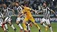 La Juventus prend l'avance contre le Real Madrid
