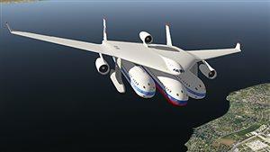 Un avant-goût de l'avion du futur