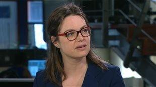 Mélanie Champagne, directrice des questions d'intérêt public à Société canadienne du cancer