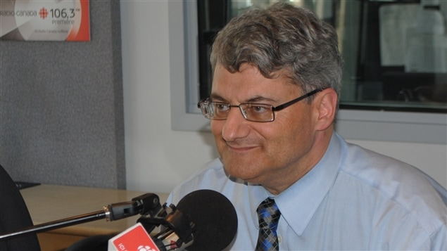 Gérard Deltell, candidat conservateur dans la circonscription fédérale de Louis St-Laurent