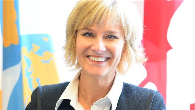 Mariette Mulaire est la présidente-directrice générale du World Trade Centre de Winnipeg
