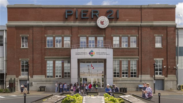 The museum is situated at the pier where one million immigrants arrived in Canada between 1928 and 1971.