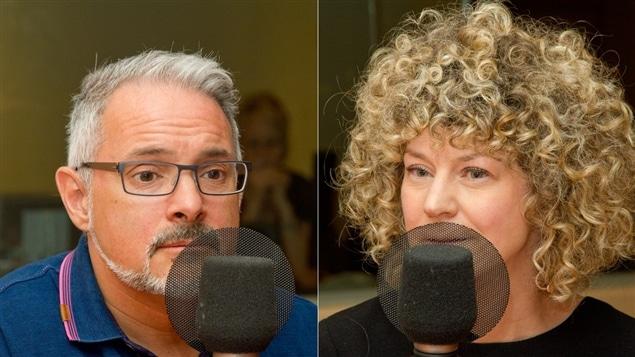 Rémi Tremblay et Diane Bérard