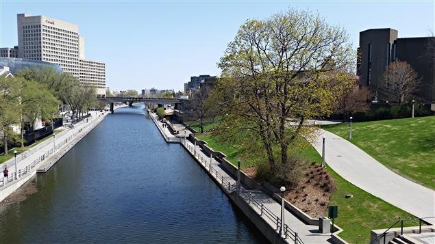 Le canal Rideau, à Ottawa, au printemps (archives)