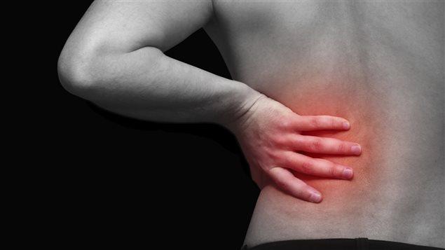 Une douleur au dos