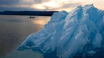 Another ice formation near Thunder Bay, Ontario
