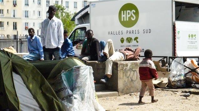 camps réfugiés paris