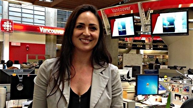 Mélanie L. Dion productrice et réalisatrice du documentaire « Sans toi ». L'oeuvre présente des témoignages de personnes touchées par le suicide de proches ou de leurs enfants.