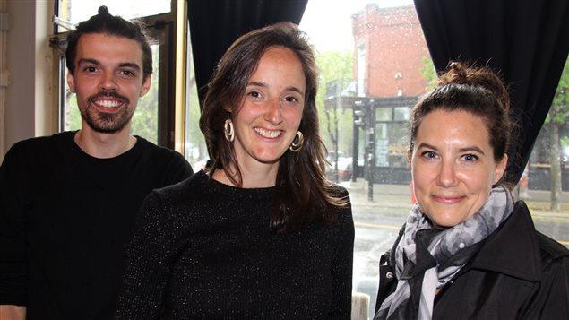Geoffrey Diackiw, Rocio Carvajo et Josiane Crampé, gagnants du concours Architecture à Zero