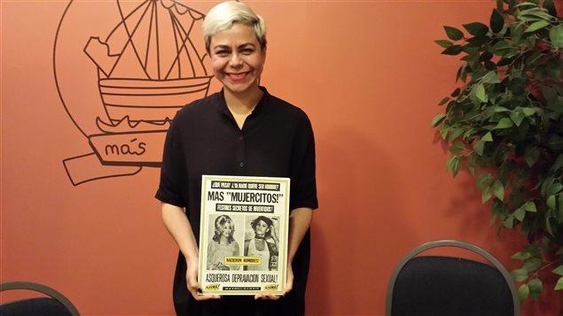 """La investigadora Susana Vargas presentó su libro """"Mujercitos"""" en Montreal."""