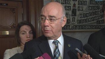Le ministre Jacques Daoust s'impatiente contre le gouvernement fédéral dans le dossier de la Davie.