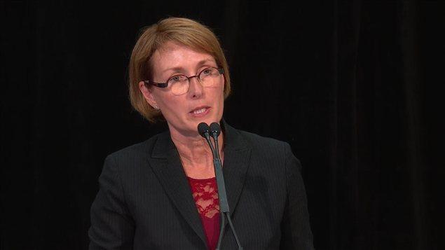 Mary Ellen Turpel-Lafond est responsable de la protection des enfants et des jeunes en Colombie-Britannique