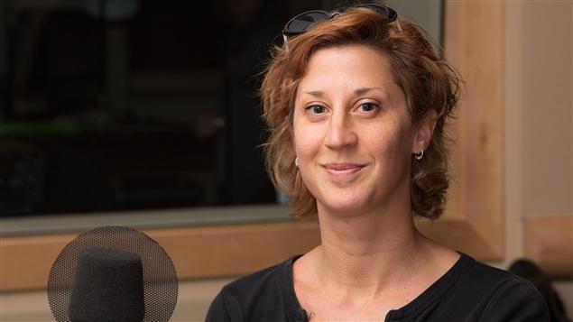 La poète Sonia Cotten