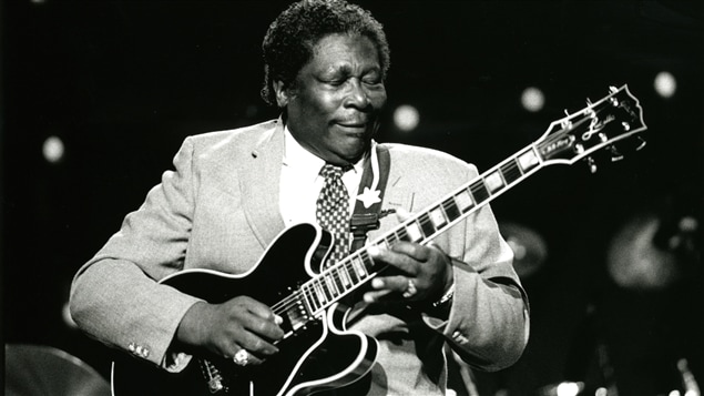 B.B. King au Festival international de jazz de Montréal en 1989.