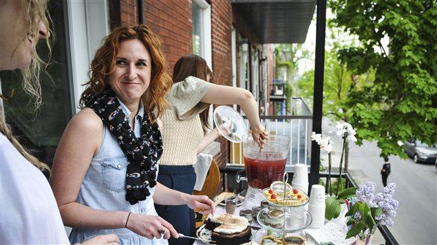 Myriam Gendron, du restaurant éphémère Les belles tartes.